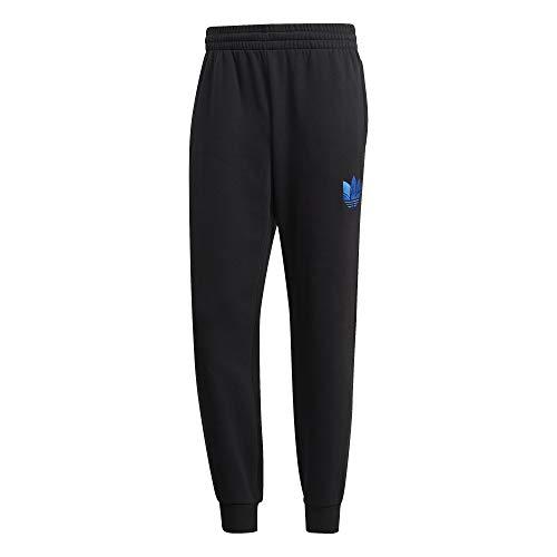 adidas 3D Tref Swtpant Sweatpants, Negro/Azul, S Mens
