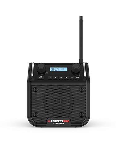 Perfectpro DABPRO Radio da Cantiere Dab+, FM, Bluetooth