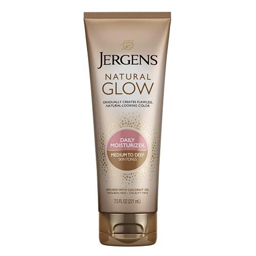 Jergens Nat Glow Med/Tan Size 7.5z Jergens Natural Glow Daily Moisturizer...