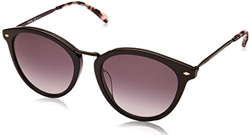 Fossil FOS 2092/G/S gafas de sol, NEGRO, 51 para Mujer
