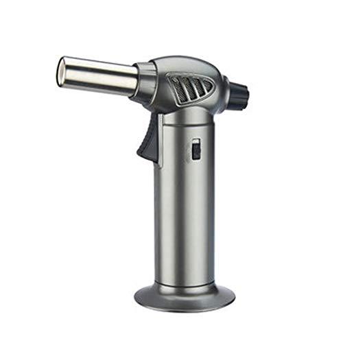 SXYL Tragbare Küchenflammthrower, Einstellbarer Zünder, aufblasbare Winddichte, Hochdruckstrahltechnologie, passen auf den Berührung mit Sicherheitsschalter