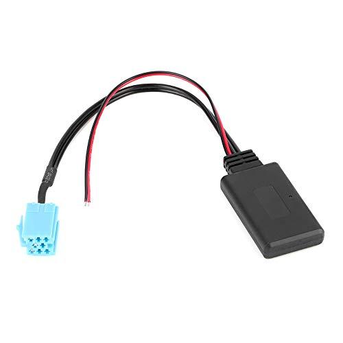 Terisass KIMISS Cavo Bluetooth AUX 8Pin Adattatore o per autoradio Adatto per Blaupunkt Philips VDO Dayton Delta, Beta Concert