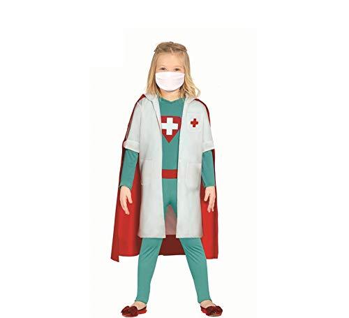 Guirca Disfraz de Sper Doctora Herona para nia