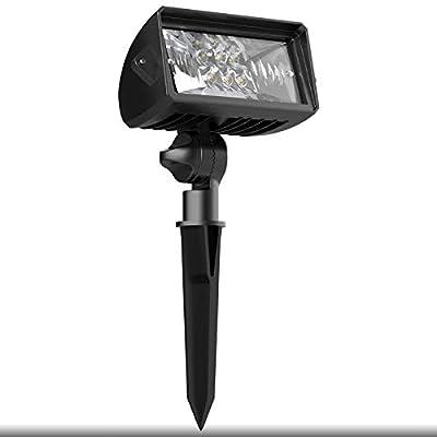 Malibu 18 Watt LED Low Voltage Landscape Floodlight with Optimal Range Wall Spotlights Waterproof Adjustable Light for Garden, Path, Lawn, Patios Security Flood Light 8401-4675-01