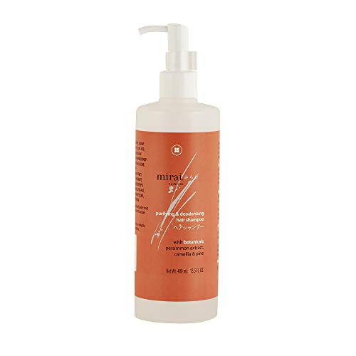 Price comparison product image Hair Shampoo for Women & Men / Sulfate Free Shampoo with Japanese Persimmon Formula Eliminates Hair Odor & Hydrates Dry Hair / 13.5 oz