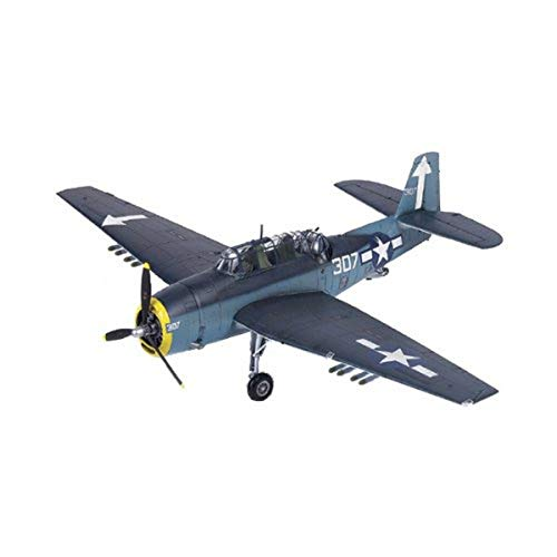 "Academy TBM-3""USS Bunker Hill Airplane Model Building Kit"