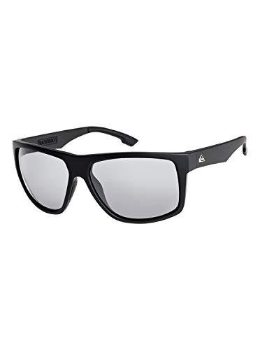 Quiksilver Herren Sonnenbrille Transmission - Sonnenbrille für Männer, Black/Blue/Black - Combo, 1SZ, EQYEY03123