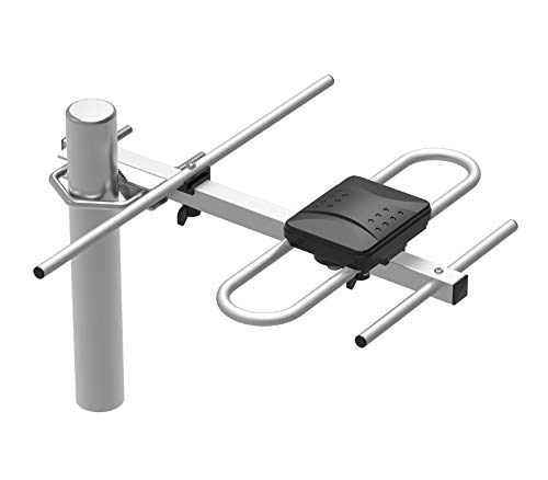 Antena Aérea Exterior Power & Co. Air 104 HDTV de Alta Definición. Especial para captar señales de largo alcance de hasta 32 km....