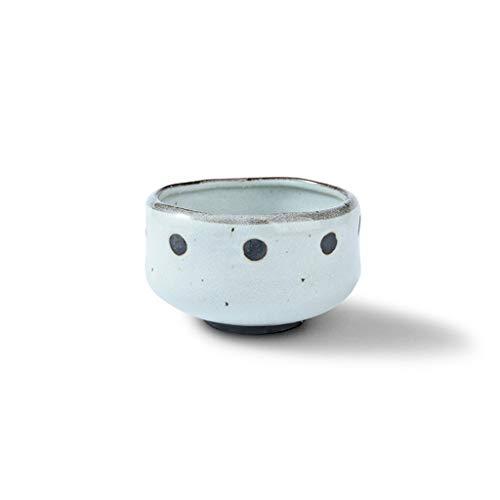 lktlg Pot à épices Ware Vaisselle en céramique créative Bol Japonais Zephyr Millet Bol à Riz Ménage Soupe Bol en céramique Noir