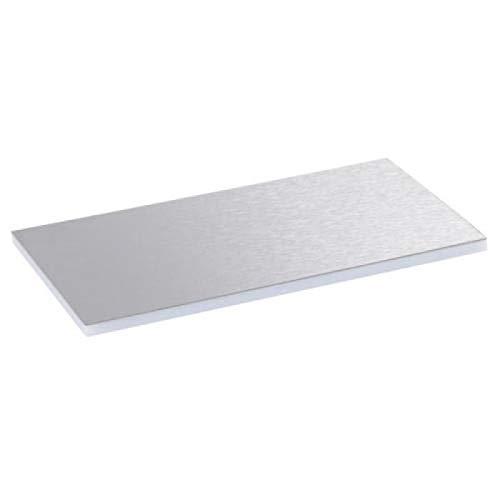 Legrand 88046 Placa Acero Inoxidable Tapa Metal 12/18M