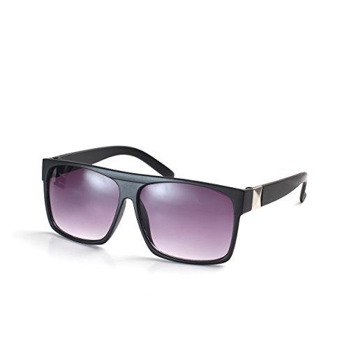 Komonee Negro Drifter Unisexo Gafas De Sol UV400 Proteccion (SG-117)