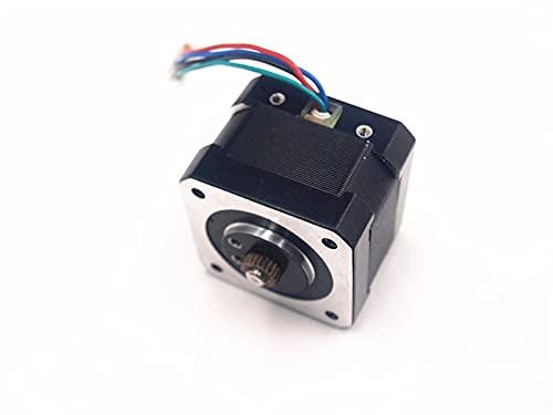 LUOERPI Motor Paso a Paso de extrusora de Repuesto UP Plus/Mini/Afinia con Engranaje de Controlador para Piezas de Impresora 3D UPtaier/Afinia