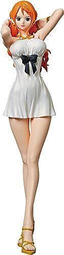 BANPRESTO One Piece Film Gold Glitter & Glamours Nami Movie Style Action Figure (Weiß Dress Version) by