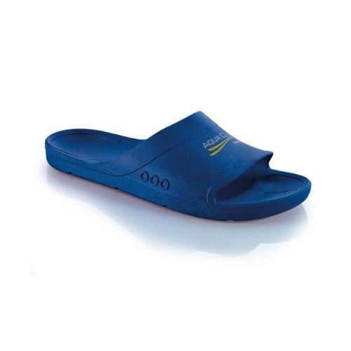 Fashy Aqua Club 7237 54, Unisex - Erwachsene Bade Sandalen, Blau (Marine 54), EU 42/43