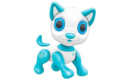 RC TECNIC Perro Robot para Niños con Control por Voz | Interactivo, Camina, Ladra y Canta | Electrónico Robot Juguete Mascota Interactiva (Toby)