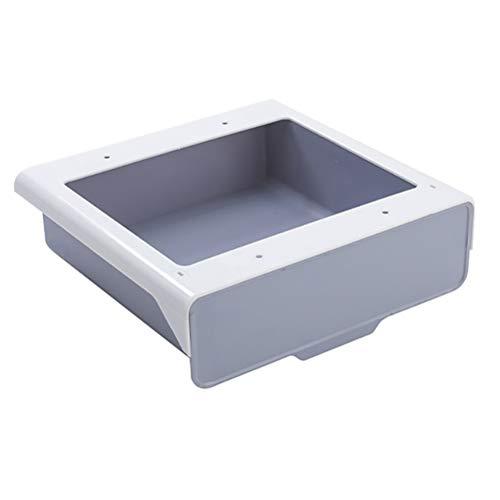 TOPBATHY - Grifo con Sensor de Agua inflado automático, Ahorro de Agua, Grifo con Sensor Inteligente de Agua fría sin batería para Fregadero de baño (Plata)