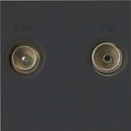 Varilight - Diplex TV/FM (inclusief DAB Digital Radio) Module In Zwart. Splits gecombineerd signaal terug in 2 Outl - Z2GTVFMB door Varilight