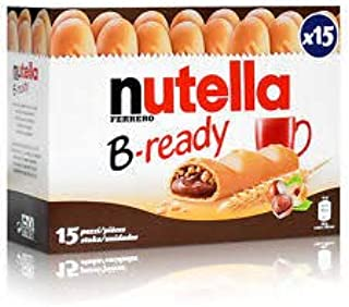 Nutella B Ready X 15 Bars Amazon Co Uk Grocery