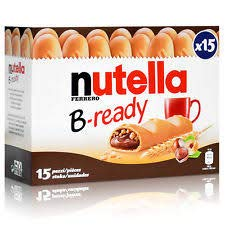 Nutella B-Ready x 15 Bars
