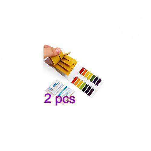 sjqc9561 160pcs Ph-testpapier Flüssigbereich 1-14 Ph-Streifen Für Wasser Boden Lackmus-Test