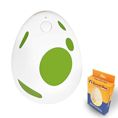 GZW-Shop Pokémon Go Plus Pocket Egg Auto Cattura e Raccogliere Catcher Adattatore Bluetooth per iOS/Android/iPhone -20m Gamma Lunga Distanza e 3 Mesi di Durata della Batteria (Verde)