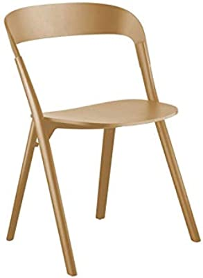 Amazon.com: YAN JUNau Canvas Folding Chair Portable Wooden ...