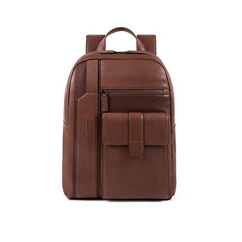 Piquadro Kobe Laptop-Rucksack 15? Dunkelbraun