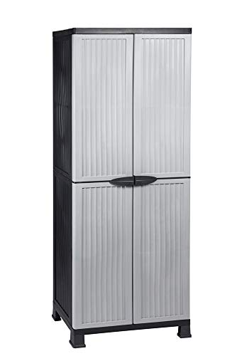 Kunststoffschrank NOBLE hoch, 171 x 68 x 40 cm,...