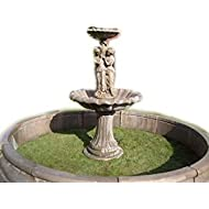 Garden fountain fountain surround contained