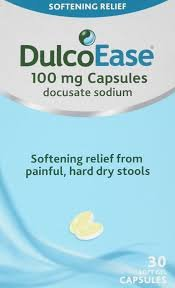 Dulcoease Stool Softener - 30