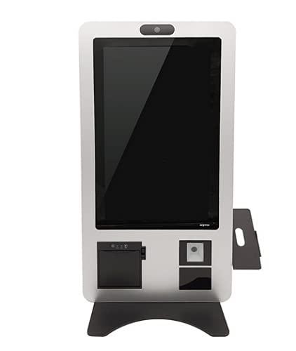 KIOSKO TPV AUTOSERVICIO Approx - APPKIOSK21 - Intel / 4GB RAM/64GB SSD/Lector CÓDIGOS 2D / Impresora TÉRMICA 80MM/Altavoces/Pantalla TÁCTIL 21' Capacitivo