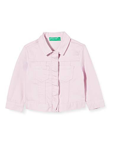 United Colors of Benetton Baby-Mädchen Giubbino Sportjacke, Pink (Winsome Orchid 07m), 80/86 (Herstellergröße: 1y)