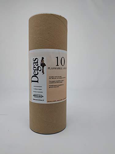 prochima pl010K1Degas 10RAL Suave 7035, plastilina de uso Profesional, 1kg