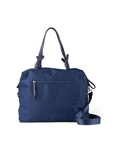 TOM TAILOR Damen Taschen & Geldbörsen Antonella Weekender Tasche dark blue cognac,OneSize,C050,6000