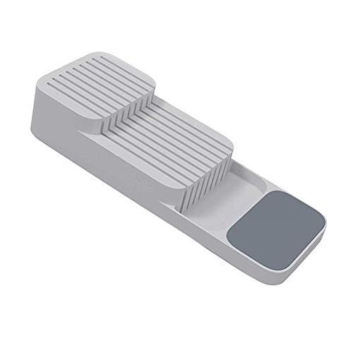 N / E Messerblock aus Kunststoff für Zuhause, Schublade, Messer, Gabeln, Löffel, Aufbewahrung, Messerständer, Schrank, Küche, Cultery Organizer