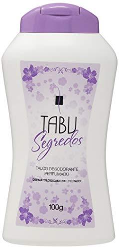 Talco Perfumado 100G Segredos Unit, Tabu