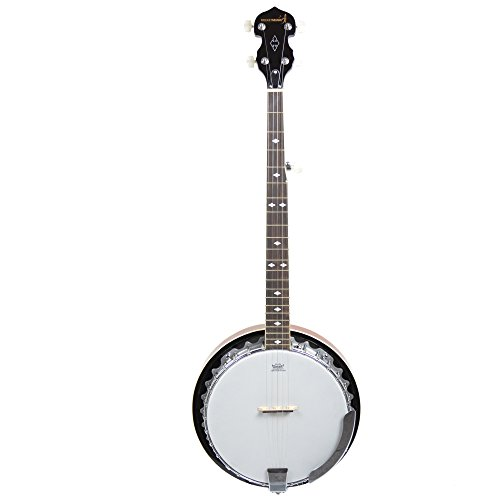 Rocket Music BJM01LH - Banjo (para zurdos), color beige