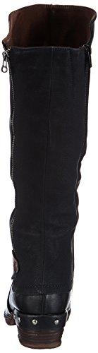 Rieker 93655 Damen Langschaft Stiefel, schwarz - 3