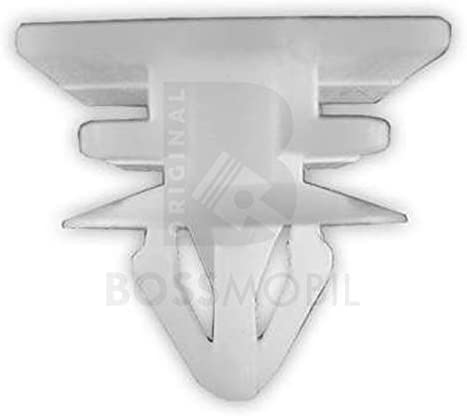 10x Original Bossmobil Kompatibel Mit Zierleisten Dachleisten Befestigung Clip Klammer Clio Kangoo 7703067448 Neu Menge Menge 100 Stück Auto