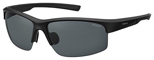 Polaroid PLD 7018/S M9 807 68 Gafas de sol, Negro (Black/Grey Pz), Hombre