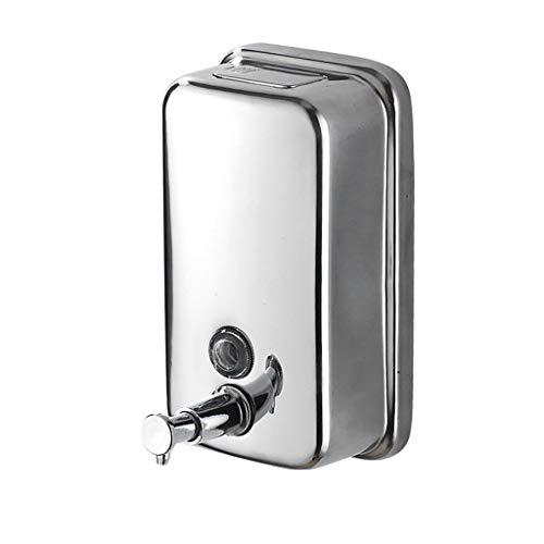Distributeur de Savon Distributeur de Savon en Acier Inoxydable 500 ML Shampooing pour Les ménages (Taille : 800ml)