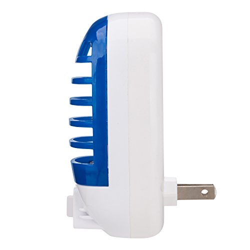 GLOUE Bug Zapper Electronic Insect Killer,Mosquito Killer Lamp,Eliminates Most Flying Pests! Night Lamp (Blue)