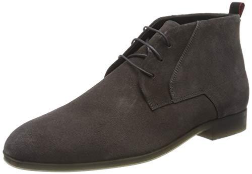 HUGO Herren Boheme_Desb_sdst Mode-Stiefel, Dark Grey21, 46 EU