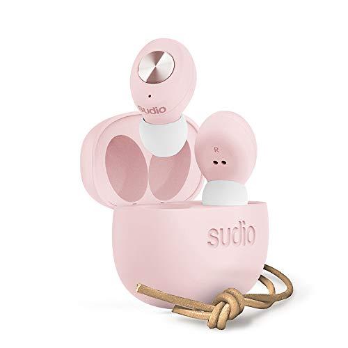 Sudio Tolv Ohrhörer, kabellose Bluetooth-Kopfhörer One Size Rose