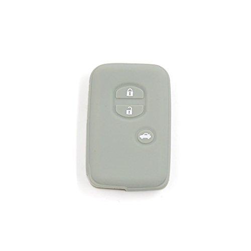 sourcing map Housse étui silicone gris Intelligent Clé Télécommande intègre 3 boutons 3BT