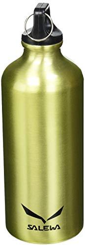 Salewa Traveller Alu Borraccia in Alluminio, Unisex adulto, Yellow, Taglia Unica