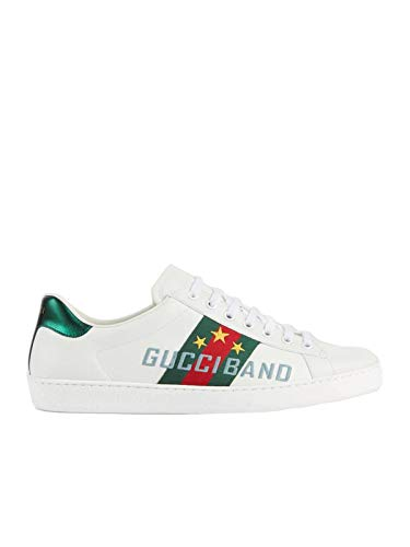 Luxury Fashion | Gucci Heren 6036930FI109069 Wit Leer Sneakers | Lente-zomer 20