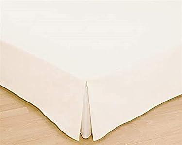 Colcha, colchón para cama, disponible en diferentes tamaños en color cáscara de huevo, tela, crudo, Bett 150 cm