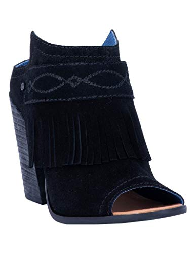 "Dingo Fashion Boots Womens Shaker Mule 2"" Shaft 9 M Black DI100"