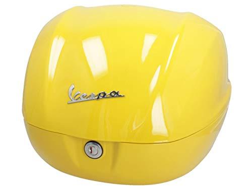 Topcase original Piaggio 32 Liter für Vespa Sprint, Primavera 50 125 CCM ab Baujahr 2019 (gelb glänzend 983/A)